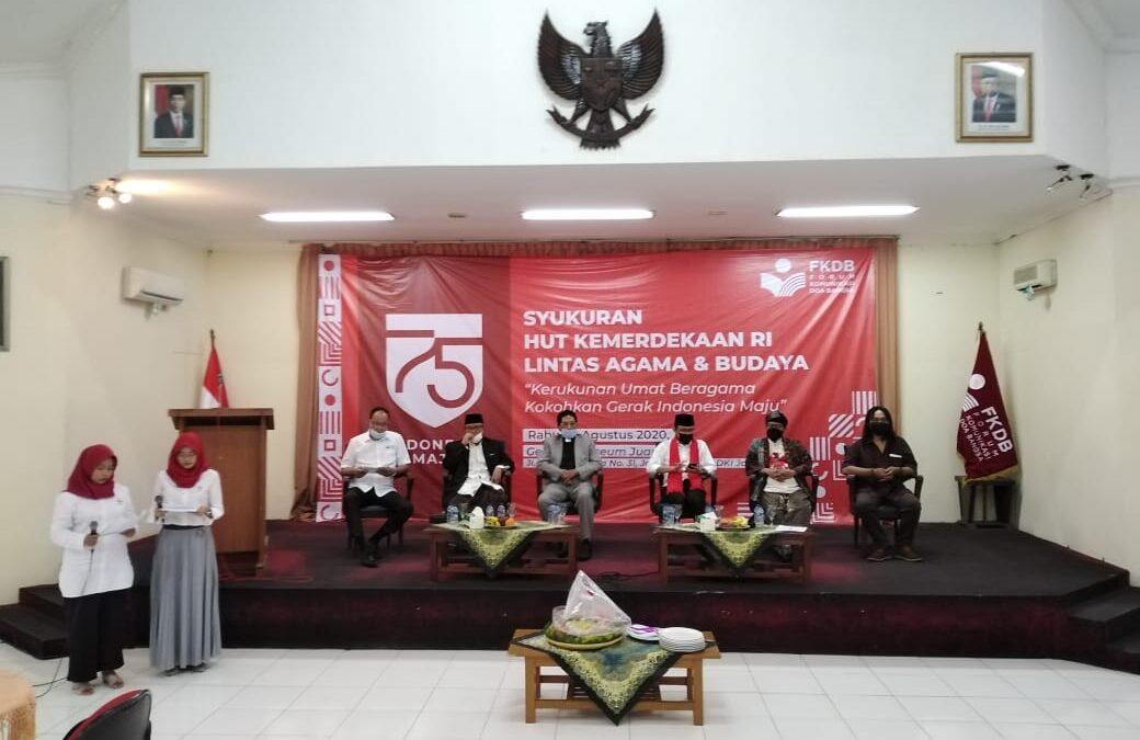 Forum Komunikasi Doa Bangsa Adakan Syukuran Yang Ke 15 Mendukung Program Pembangunan Nasional