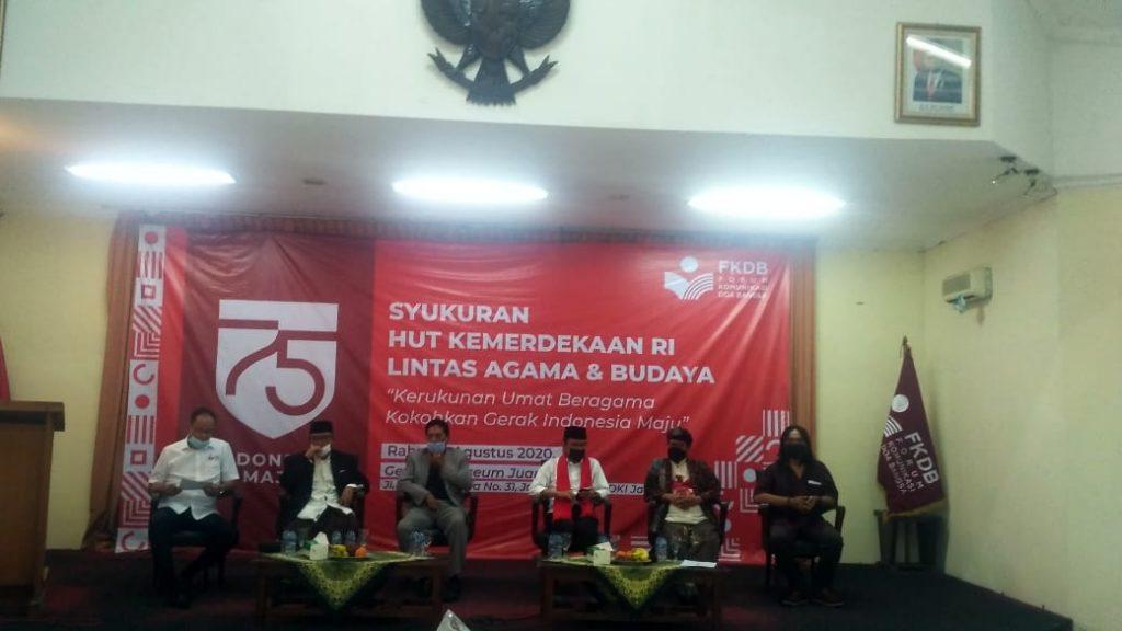 Dalam Rangka HUT Kemerdekaan RI Ke 75 , FKDB Gelar Syukuran