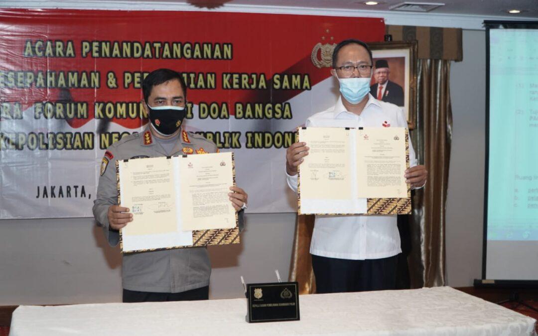 Program FKDB on Farm Resmi Jalin Kerjasama dengan Polri