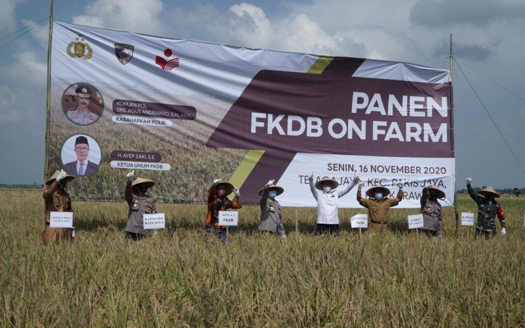Panen Raya, Implementasi MoU dan Perjanjian Kerjasama FKDB Bersama Baharkam Polri