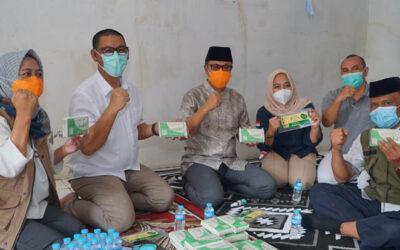 Beri Perhatian Pelaku UKM, Wali Kota Sukabumi Kunjungi Rumah Tempe Azaki