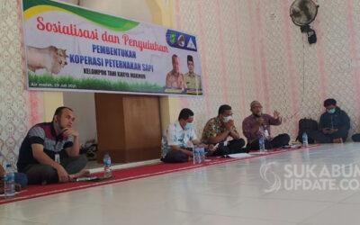 Kelompok Tani Karya Makmur Binaan FKDB Sosialisasikan Pembentukan Koperasi Peternakan Sapi