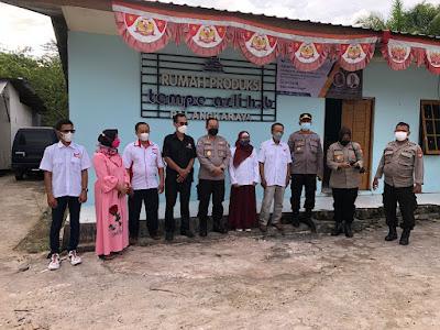 Baharkam Polri Kunjungi Rumah Produksi Tempe Binaan FKDB di Palangkaraya, Kalimantan Tengah